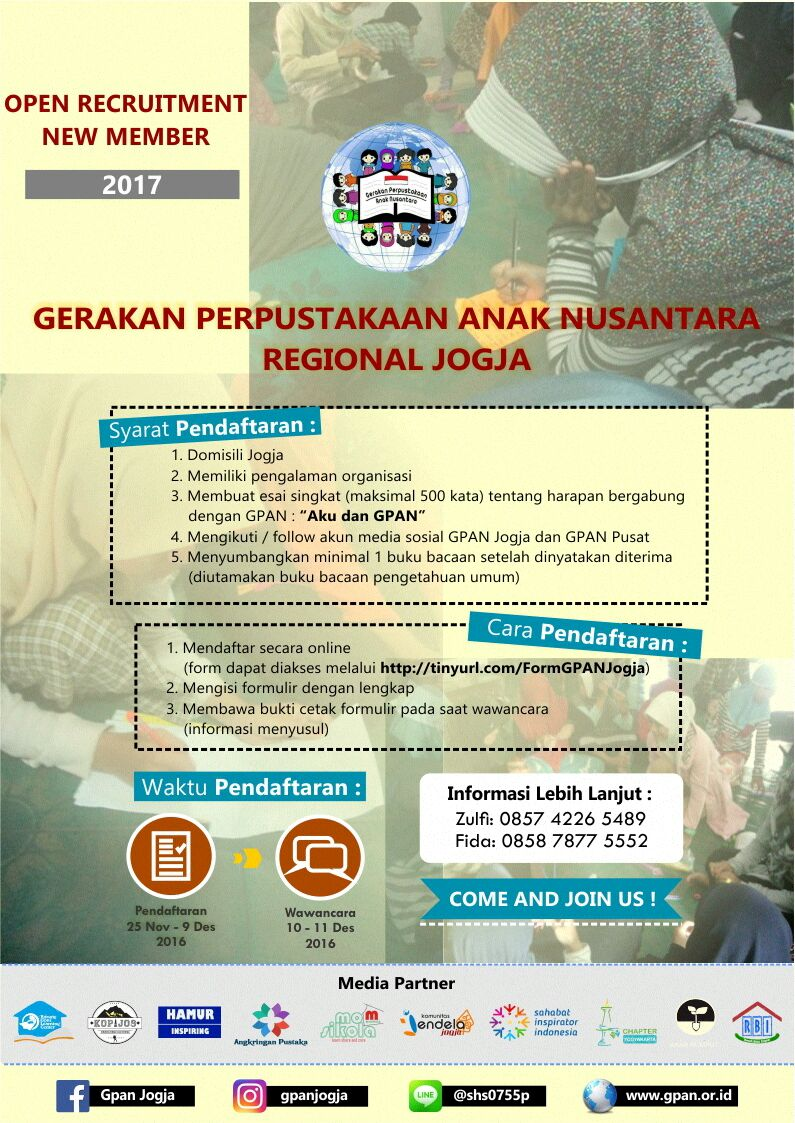 recruitment gpan jogja