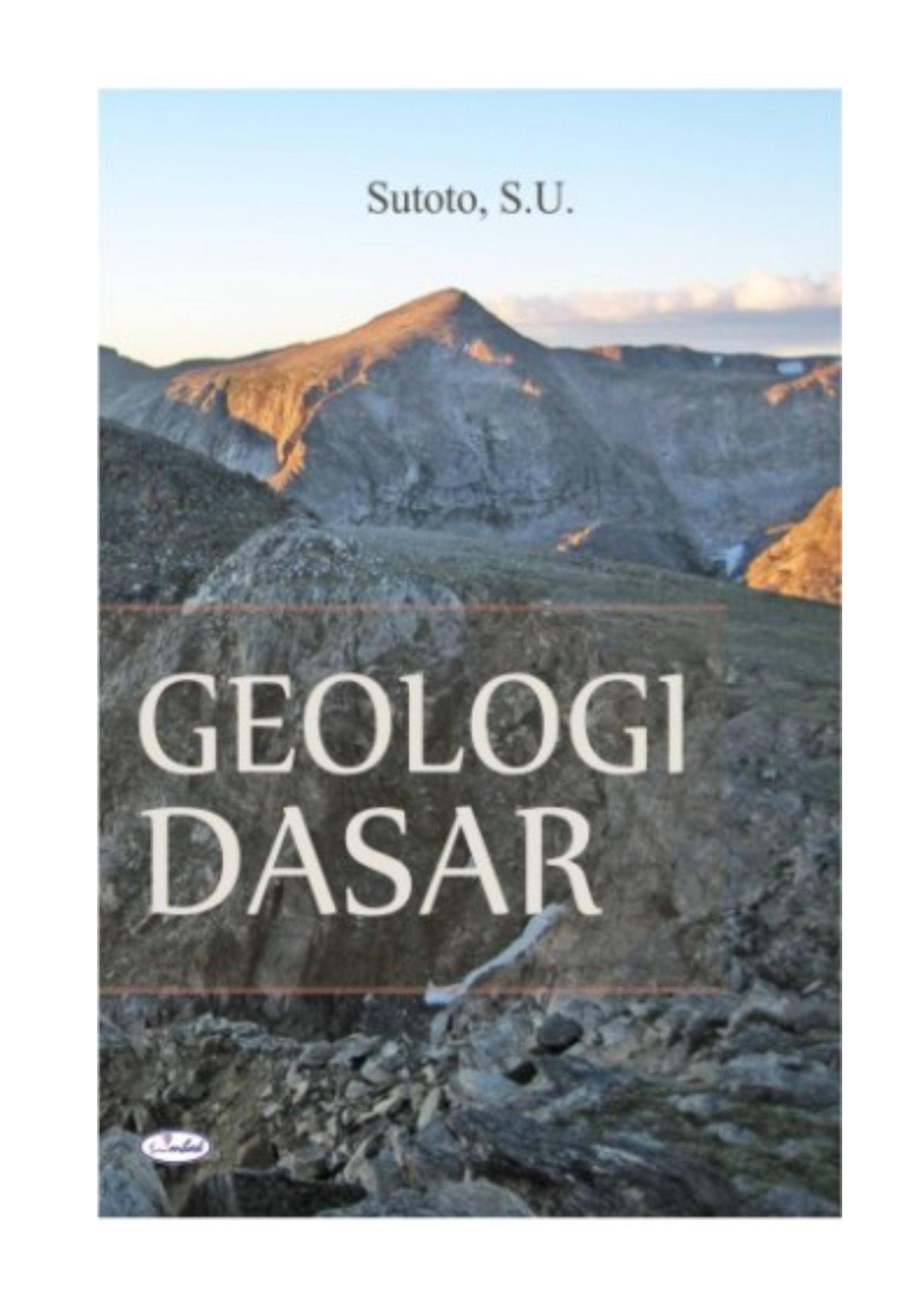 GEOLOGI DASAR