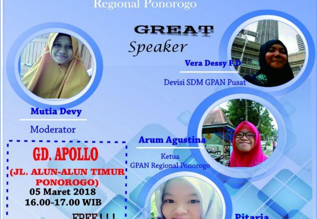 TALKSHOW NGOBRAS Gerakan Literasi Nusantara