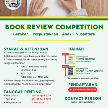 BOOK REVIEW COMPETITION GPAN