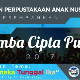 Gerakan Perpustakaan Anak Nusantara: Tanamkan Semangat Bhinneka Tunggal Ika Melalui Kompetisi Karya