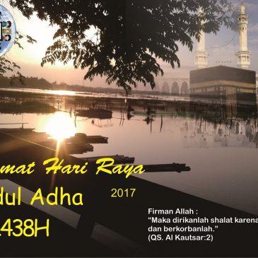 Selamat Hari Raya Idul Adha 1438H
