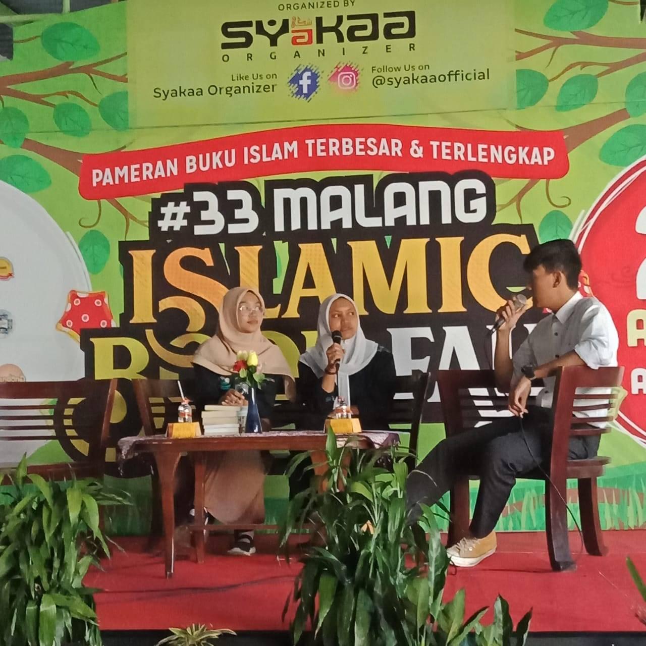 Talkshow GPAN Malang pada Islamic Book Fair 33