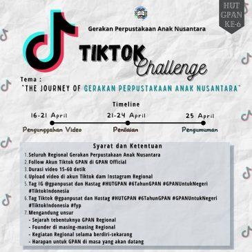 Persiapan TikTok Challenge pada Peringatan HUT GPAN ke-6